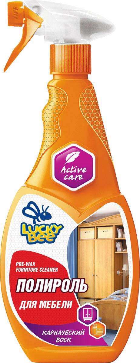 Полироль-очиститель для мебели Lucky Bee, 473 мл нейтрализатор запахов lucky bee lb 7512