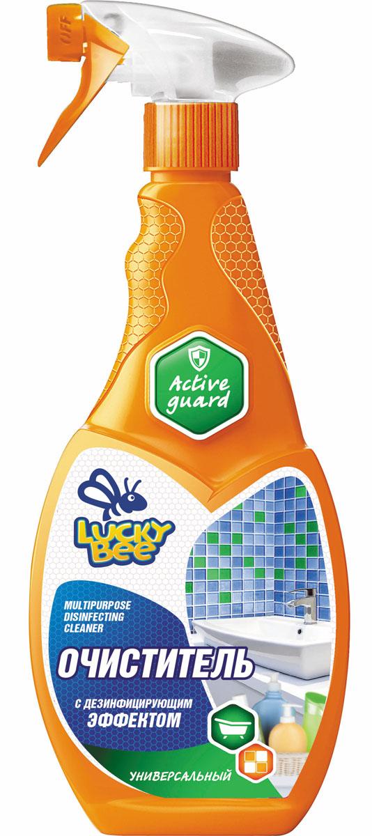 Очиститель дезинфицирующий Lucky Bee, универсальный, 473 мл нейтрализатор запахов lucky bee lb 7512