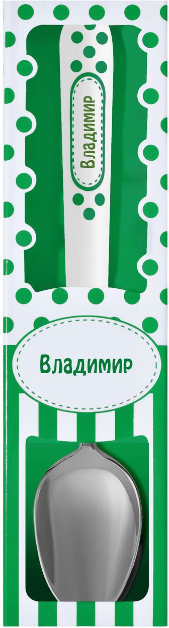 Ложка чайная Be Happy Чайная ложка, зеленый, белыйЛ-28Именная ложка - готовое решение для подарка по любому поводу. Ложка изготовлена из нержавеющей стали, а ручка нежной пастельной расцветки - из керамики. Каждая ложка имеет индивидуальную подарочную упаковку. Идеальным подарочным вариантом станет сочетание прибора с именной кружкой. С таким замечательным дуэтом обладатель подарка почувствует свою особенность и индивидуальность.