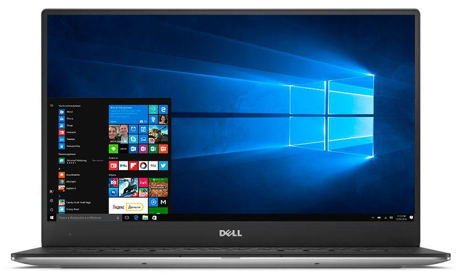 13.3 Ноутбук Dell XPS 13 9365 9365-6225, серебристый ультрабук dell xps 13 9365 13 3 1920x1080 intel core i5 8200y 256 gb 8gb intel hd graphics 615 серебристый windows 10 professional 9365 2516
