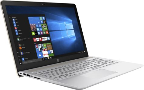 Ноутбук HP Pavilion 15-cc515ur, 2CP21EA, 15.6, золотистый цена