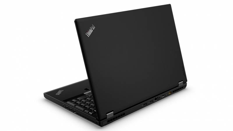 15.6 Ноутбук Lenovo ThinkPad P51 20HH001RRT, черный ноутбук lenovo thinkpad p1 core i7 8750h 16gb 512gb ssd nv quadro p1000 4gb 15 6 uhd touch win10pro black