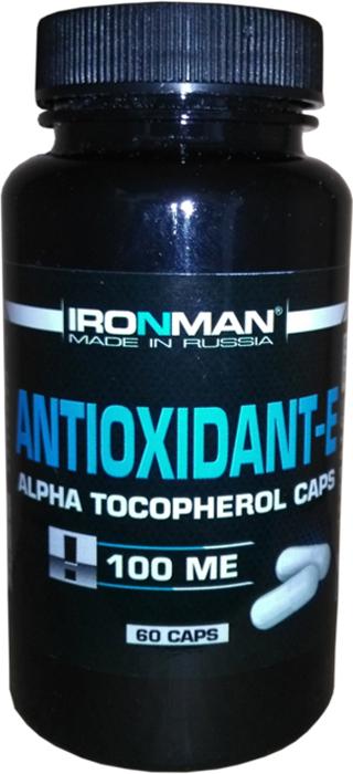 Антиоксидант Ironman Антиоксидант-Е, 60 капсул котельникова е а финансы