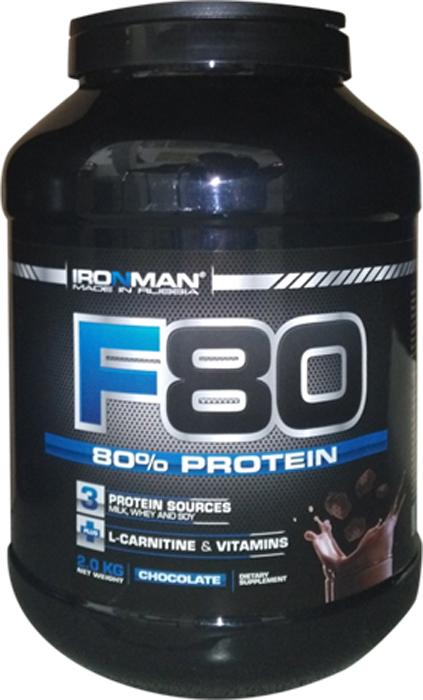 цена на Протеин Ironman F-80, шоколад, 2 кг