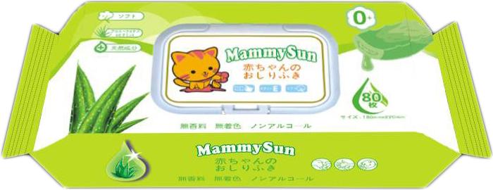 MammySun Детские влажные салфетки 80 шт