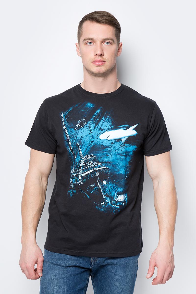 Футболка Todomoda футболка с круглым вырезом и рисунком 10 16 лет redskins®