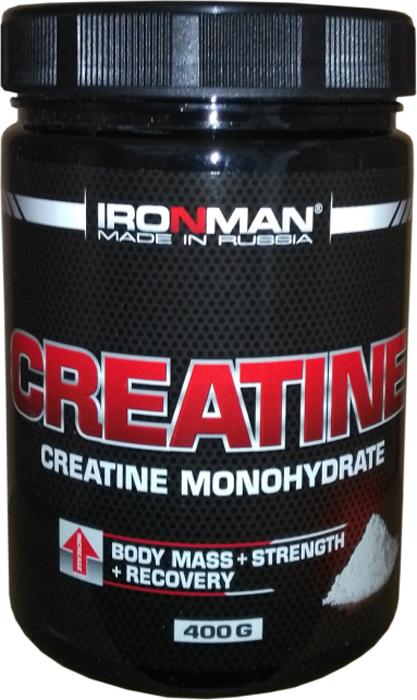 Креатин моногидрат Ironman Креатин, 400 г dymatize nutrition моногидрат креатина dymatize creatine micronized 500гр