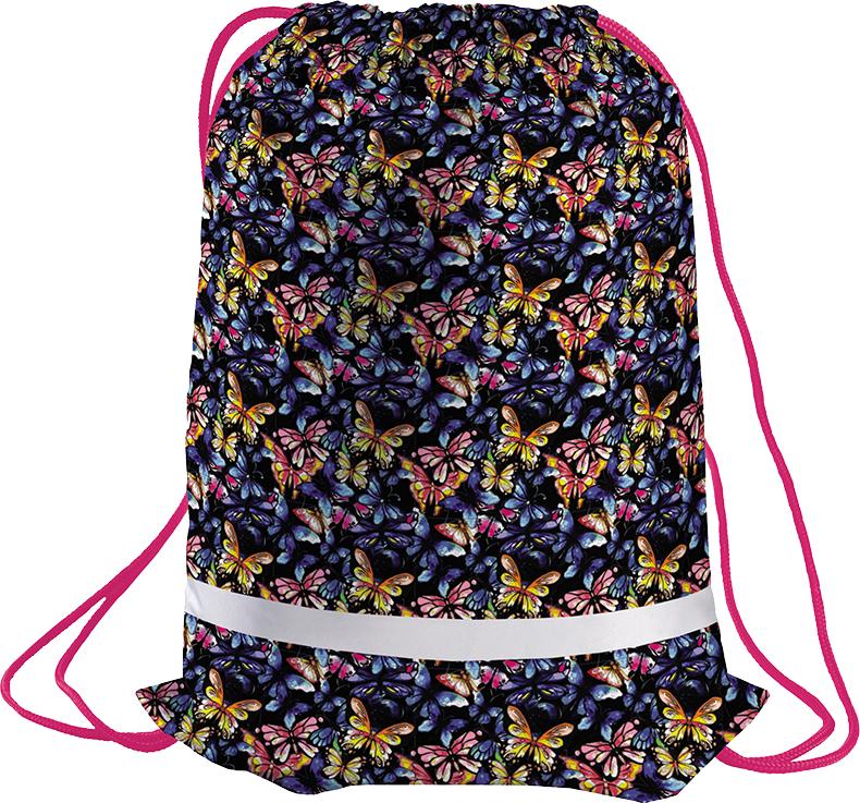 Berlingo Мешок для обуви Butterfly цвет розовый синий