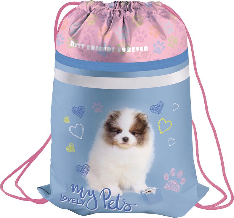 Berlingo Мешок для обуви Puppy мешок для обуви zoobles разм 43х32 см с доп карманом на молнии zb ass4306 4