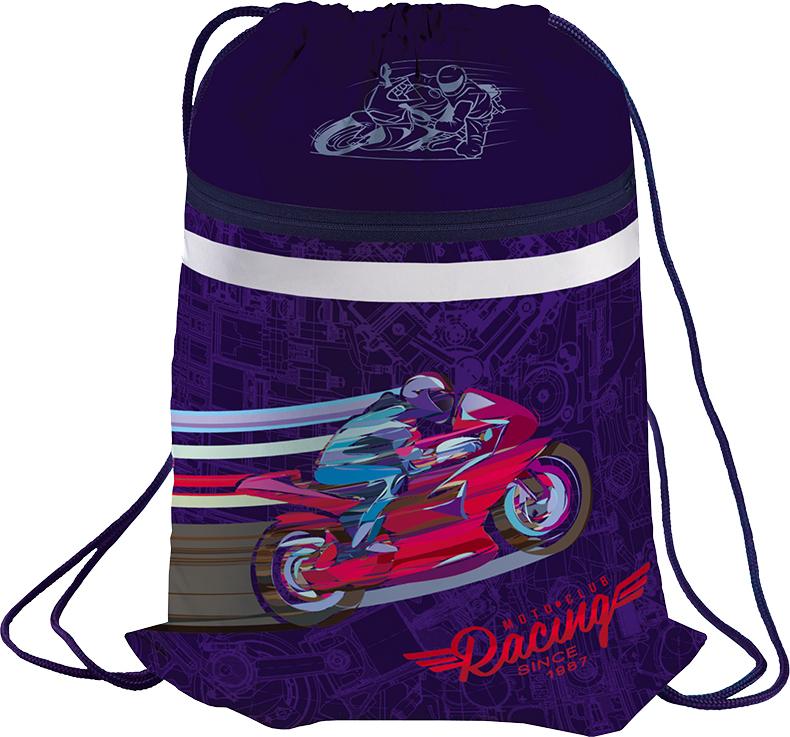 Berlingo Мешок для обуви Sportbike мешок для обуви zoobles разм 43х32 см с доп карманом на молнии zb ass4306 4