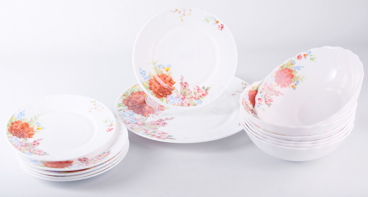 Набор столовой посуды Olaff Наранга, 13 предметов