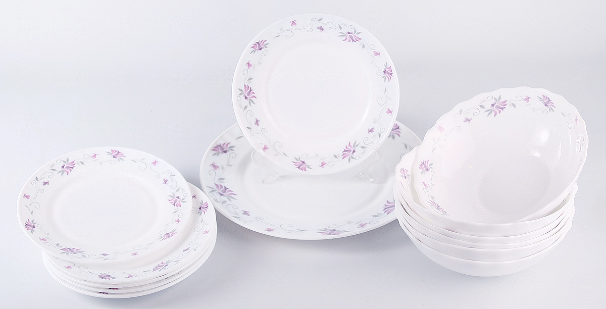 Набор столовой посуды Olaff Эстелла, 13 предметов кофейный набор сакура 130 мл 12 предметов с ложками в подарочной упаковке 730439