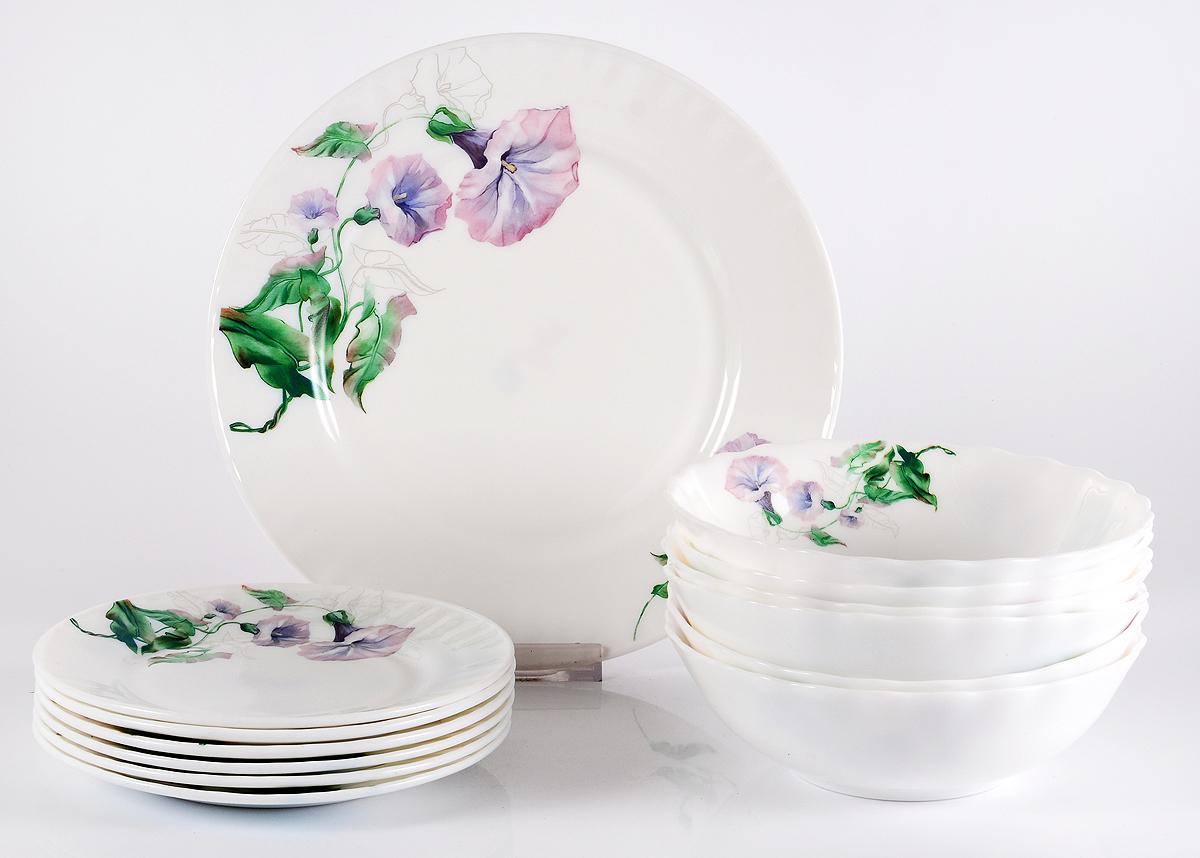Набор столовой посуды Olaff Скарлет, 13 предметов