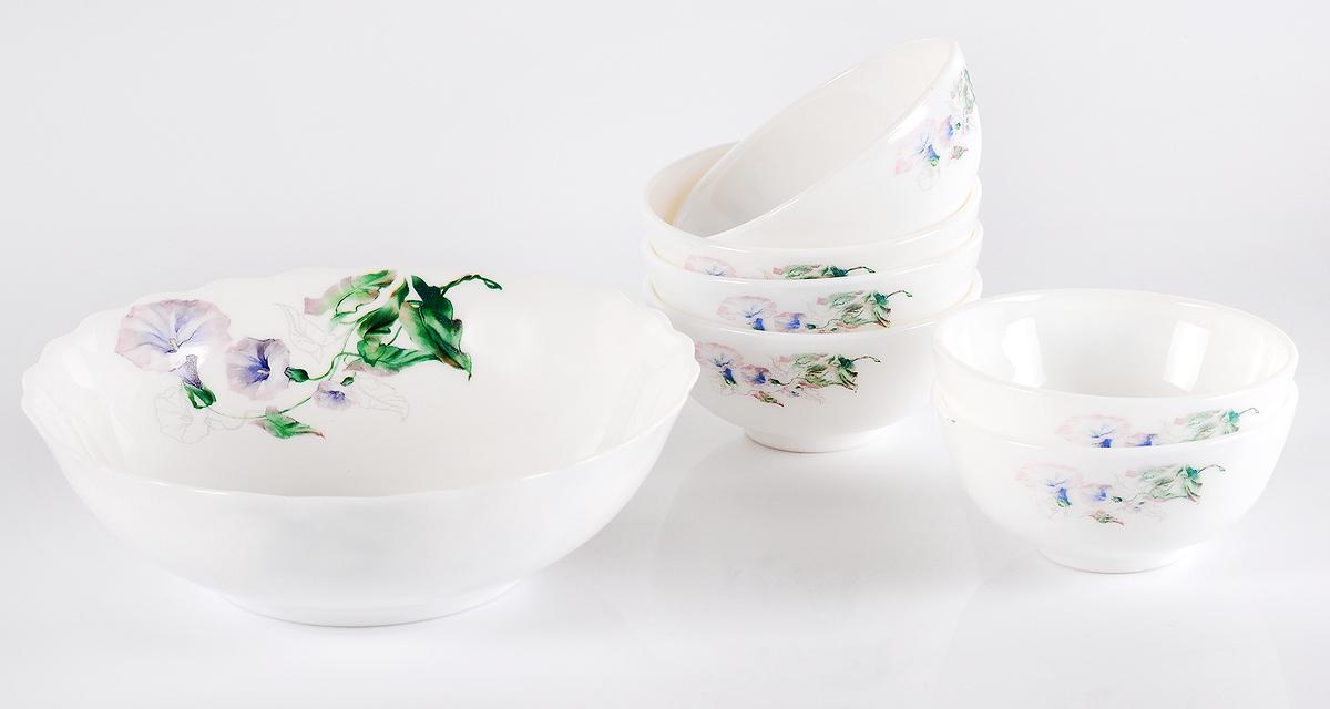 Набор столовой посуды Olaff Скарлет, 7 предметов