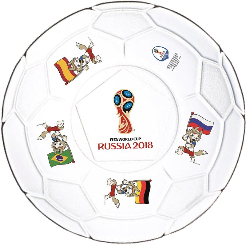Тарелка для пиццы FIFA Футбол. Фут Пати ЧМ, 31 смN7158Тарелка станет отличным подарком близким, друзьям или просто коллегам по работе.