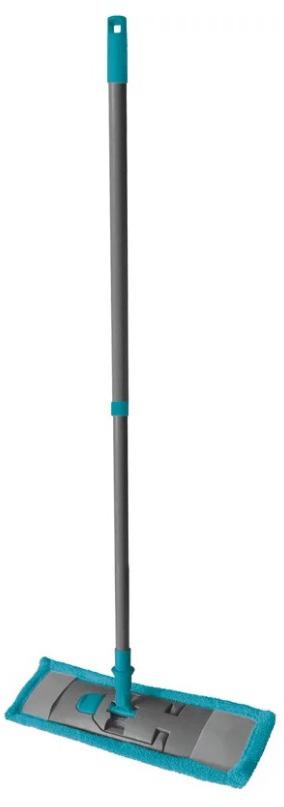 Швабра HITT Supreme. Теора, усиленная, с телескопической ручкой, длина 130 см. H0632H0632Универсальная плоская швабра отлично подходит для мытья всех типов напольных поверхностей: паркет, ламинат, линолеум, кафельная плитка. Насадка не царапает поверхности и отлично впитывает влагу. Специальная конструкция поворотного соединения позволяет очищать труднодоступные места. Благодаря складному держателю, можно легко заменить чистящие насадки. Швабра подходит для влажного и сухого использования.