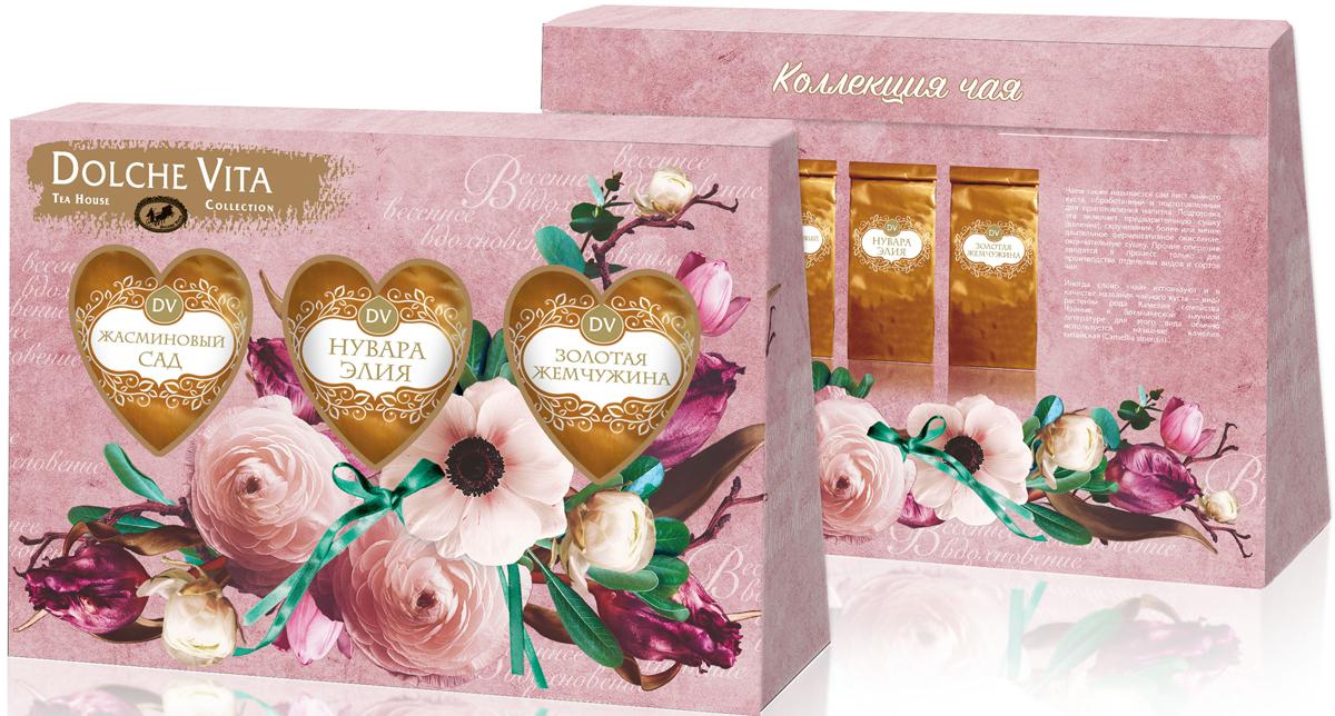Dolche Vita Сила любви подарочный набор 3 вида чая, 120 г