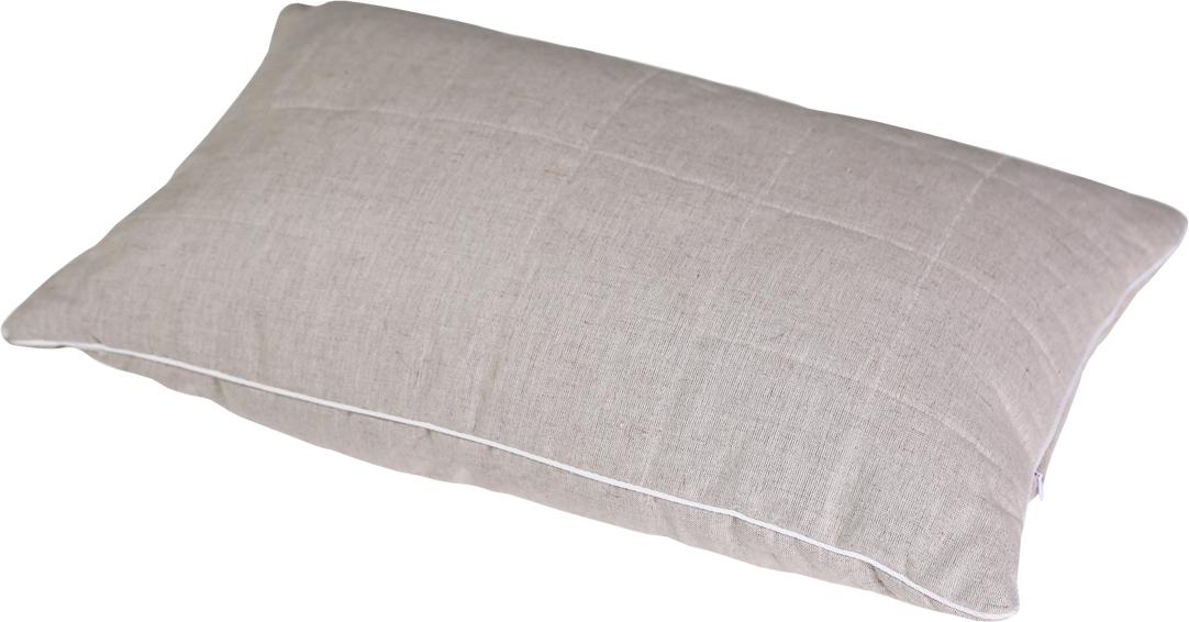 Подушка Bio-Textiles Полезный сон, наполнитель: лебяжий пух, 70 х 70 см подушка bio textiles полезный сон наполнитель лебяжий пух цвет бежевый 50 х 70 см psl737