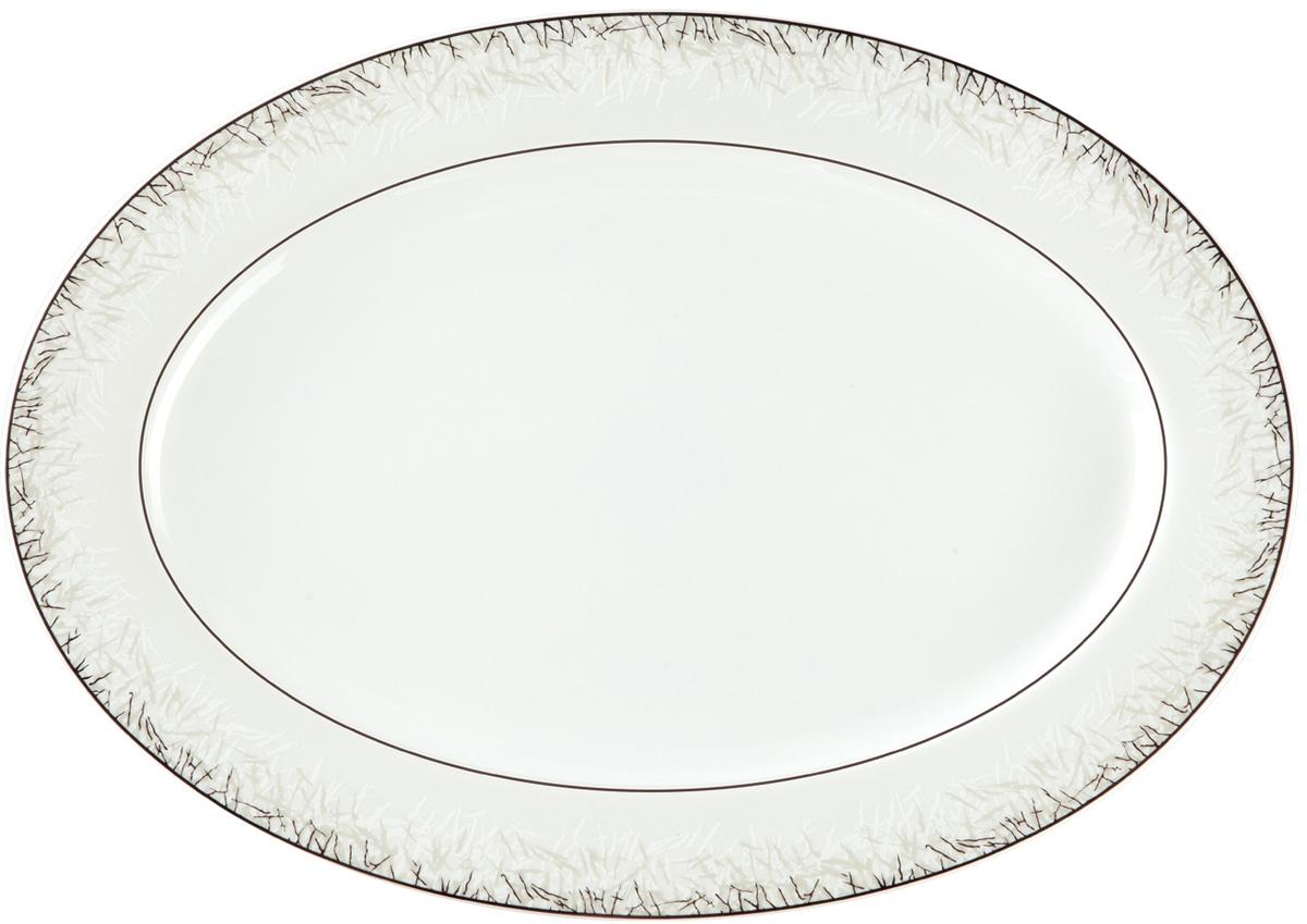 Блюдо Royal Aurel Иней, овальное, 31 см блюдо royal aurel иней овальное 31 см