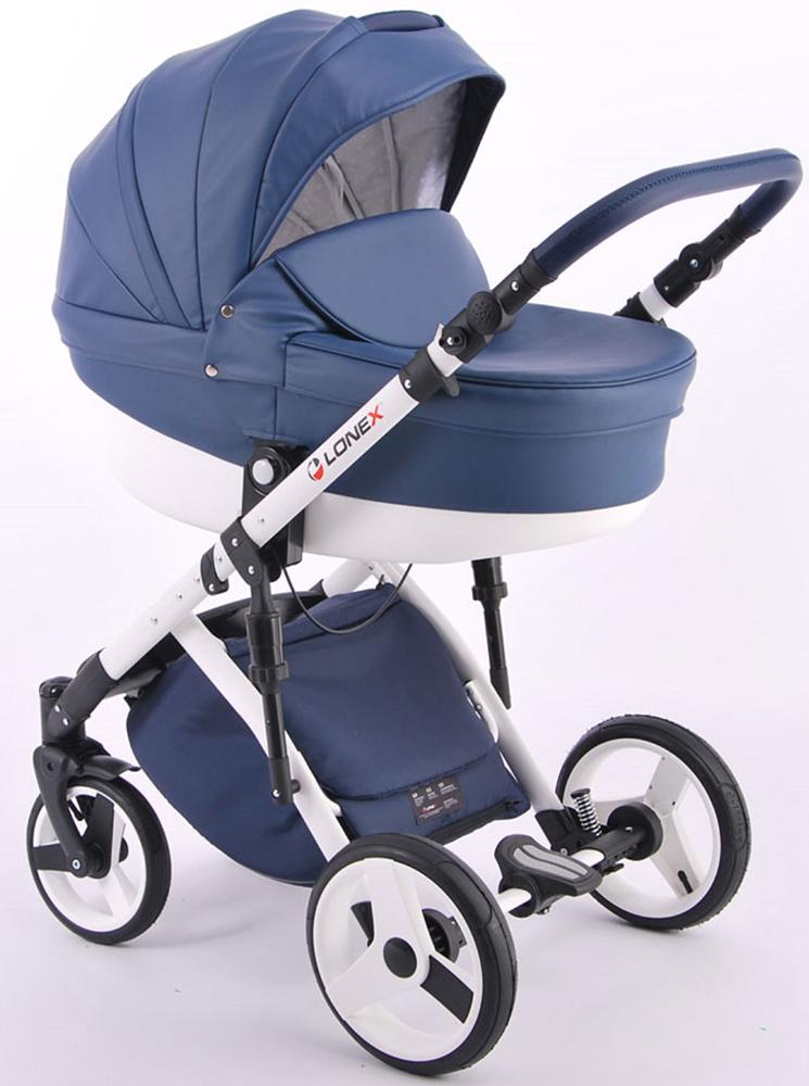Универсальная коляска Lonex Comfort Special Ecco 2в1, LX-CT-S-01, синий