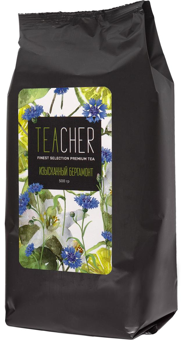 Teacher Изысканный бергамот с цветками синего василька чай премиум, 500 г teacher карельский чай цветочно травяной купаж 500 г