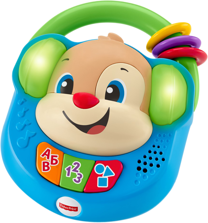 Fisher-Price Infant Toys Развивающая игрушка Плеер Ученого Щенка