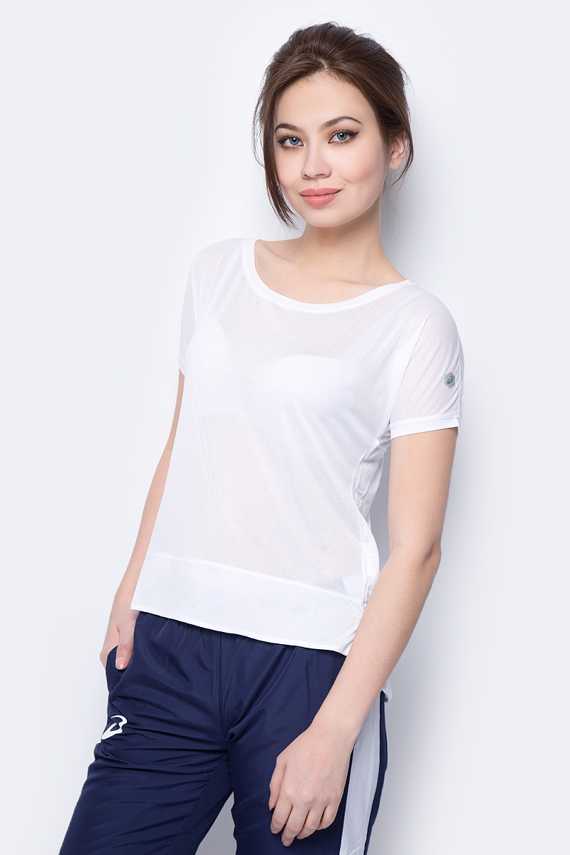 Футболка Asics Crop Top lace up crop top tee