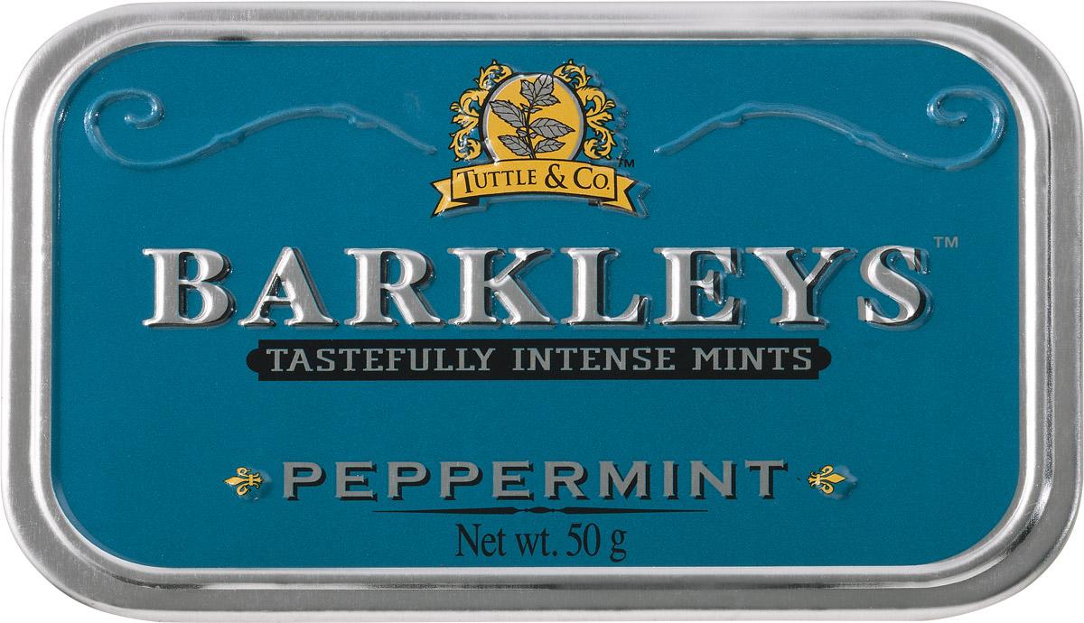 Barkleys Peppermint леденцы пепперминт, 50 г цены