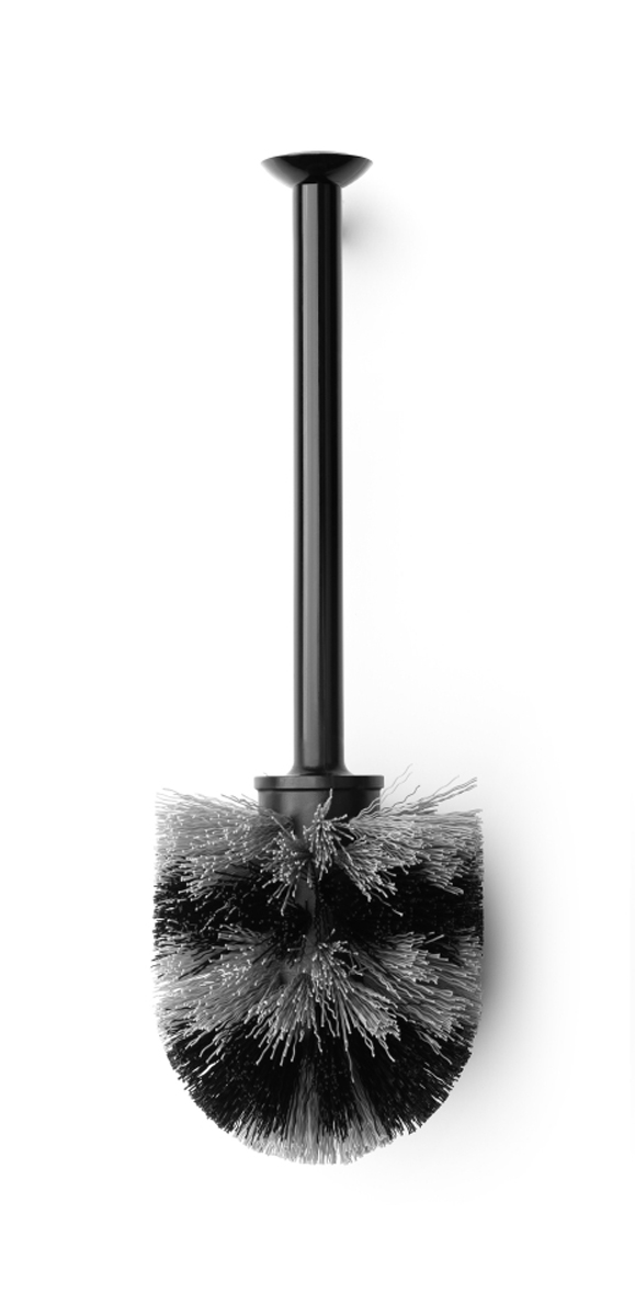 Ершик для туалета Brabantia, сменный, цвет: черный. 481161 щетка для туалета