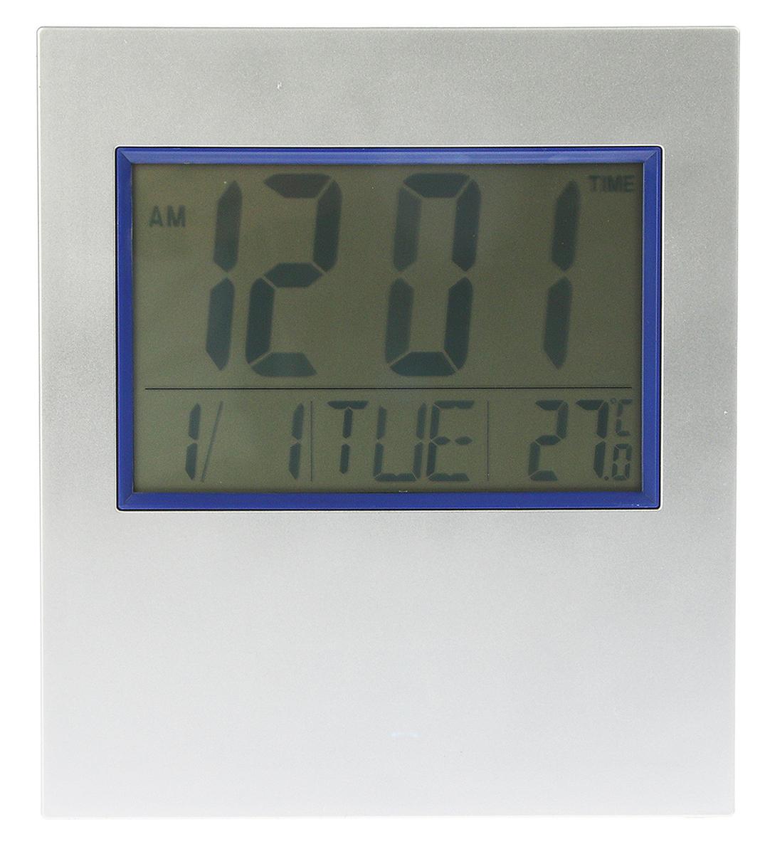Часы настенные электронные, 17,5 х 19 см
