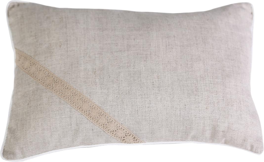 Подушка Bio-Textiles Кедровая магия, наполнитель: кедр, цвет: бежевый, 30 х 40 см