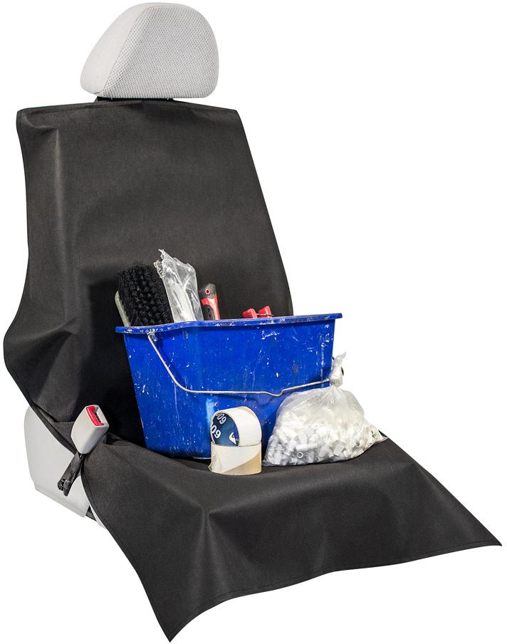 Накидка защитная на переднее сиденье Много Везу, 78 х 130 см. М 1201 накидка защитная для животных avtoporyadok на переднее сиденье с карманом цвет серый 120 х 49 см