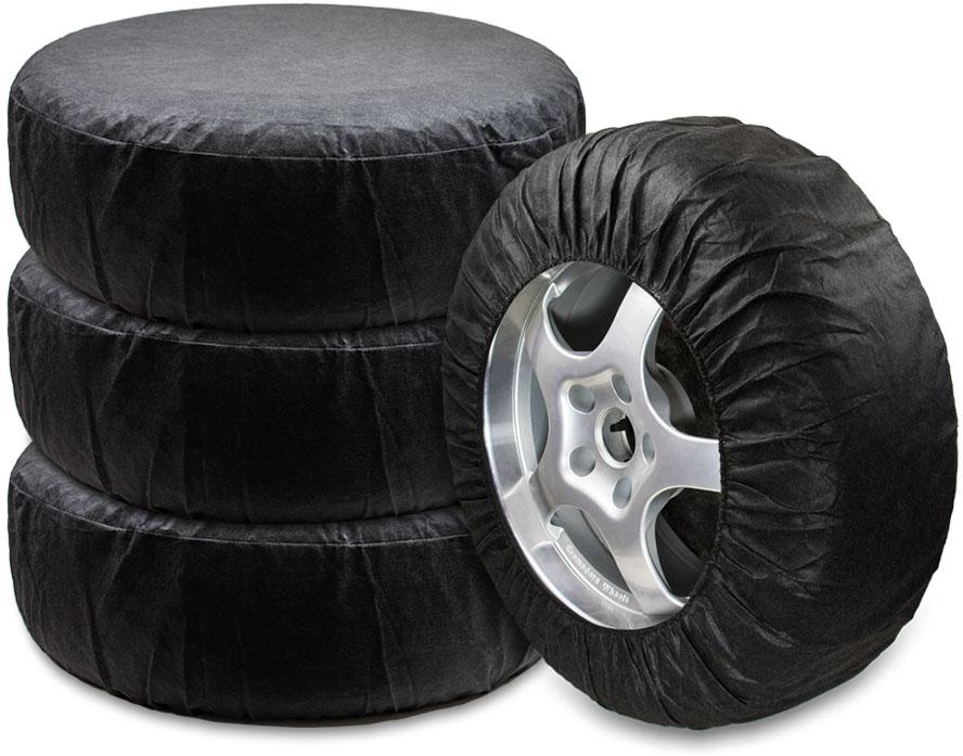 Чехлы для хранения автомобильных колес Много Везу, от 13 до 16, 4 шт чехлы для колес skybear r13 r16 ширина шин до 210 мм длина окружности шины до 198 см 4 шт