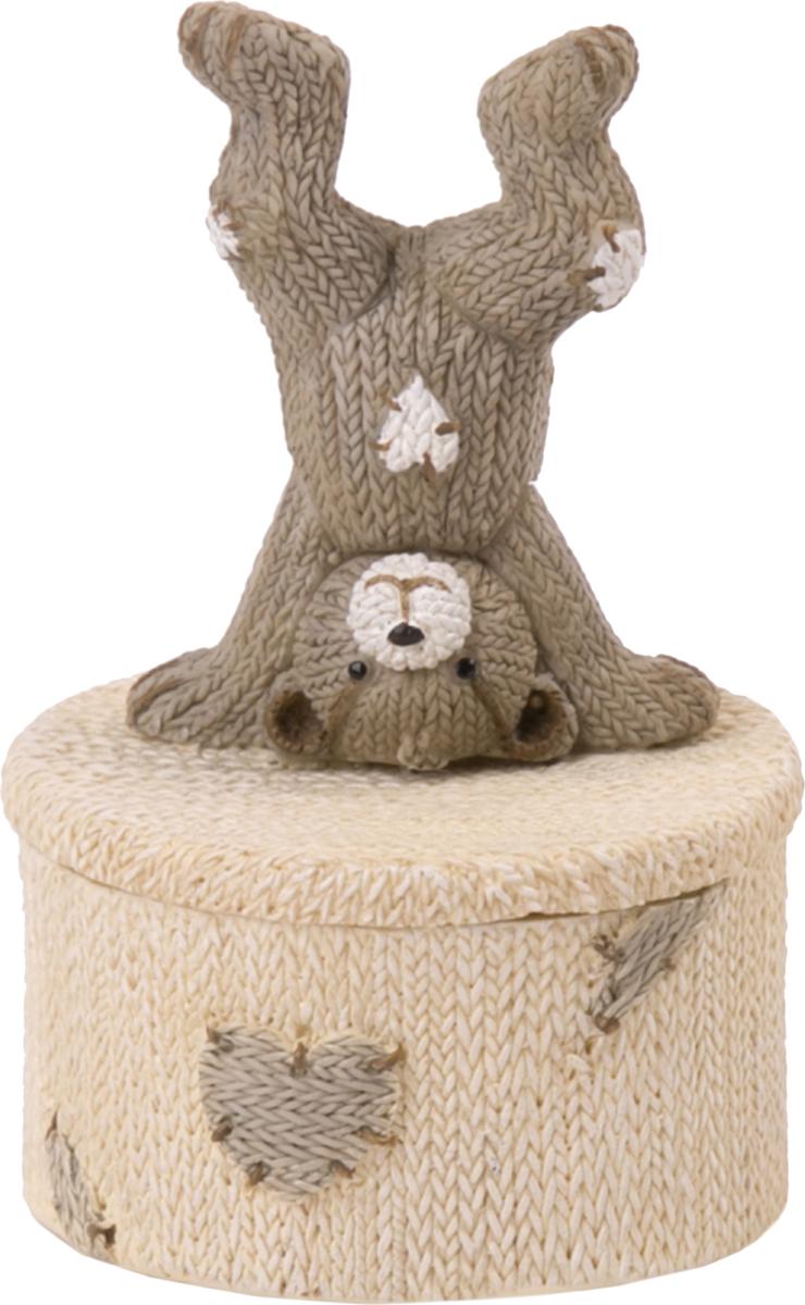 Шкатулка Magic Home Медвежонок-акробат. 76652 шкатулка свечи и серпантин magic home