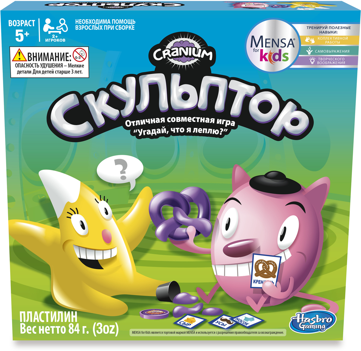 Hasbro Games Игра настольная развивающая Скульптор hasbro игра cluedo классическая детективная other games a5826 hasbro