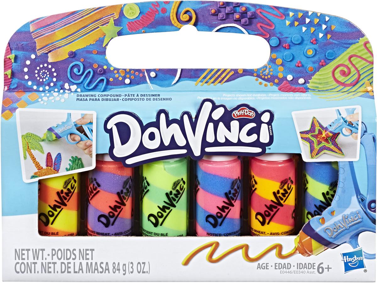 Play-Doh Катриджи для творчества ДаВинчи6 шт