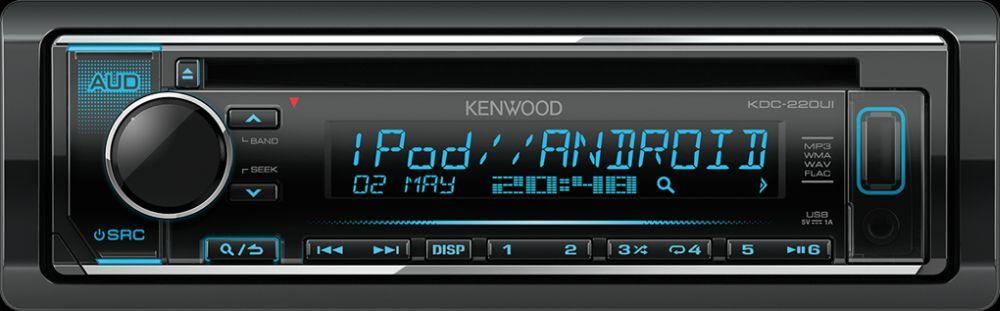 Kenwood KDC-220UI автомагнитола