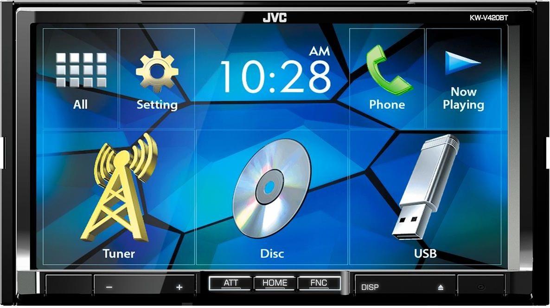 JVC KW-V420BT автомагнитола автомагнитола е96