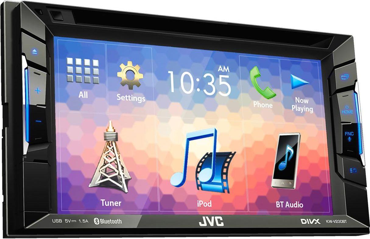 где купить JVC KW-V230BT автомагнитола дешево
