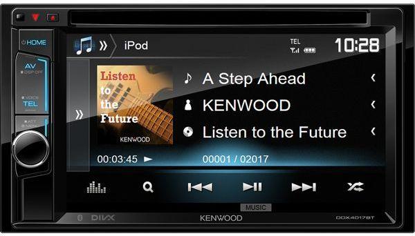 Kenwood DDX-4017BTR автомагнитола