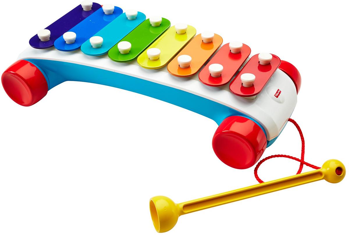 Fisher-Price Infant Toys Музыкальная игрушка КсилофонCMY09С помощью музыкальной игрушки вам малыш сможет создавать чудесные мелодии. На ксилофоне можно играть как в одному, так и в составе ансамбля. Яркое оформление музыкальной игрушки никого не оставит равнодушным.
