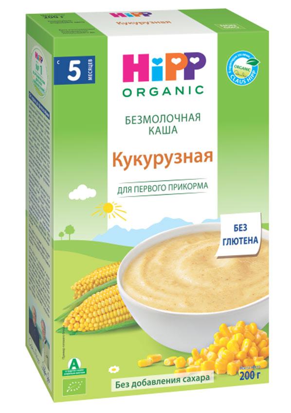 Hipp каша зерновая кукурузная, с 5 месяцев, 200 г