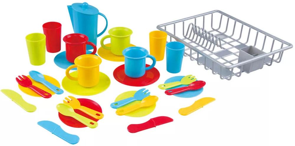 PlayGo Игровой набор - сушка с посудой playgo игровой набор тостер цвет розовый