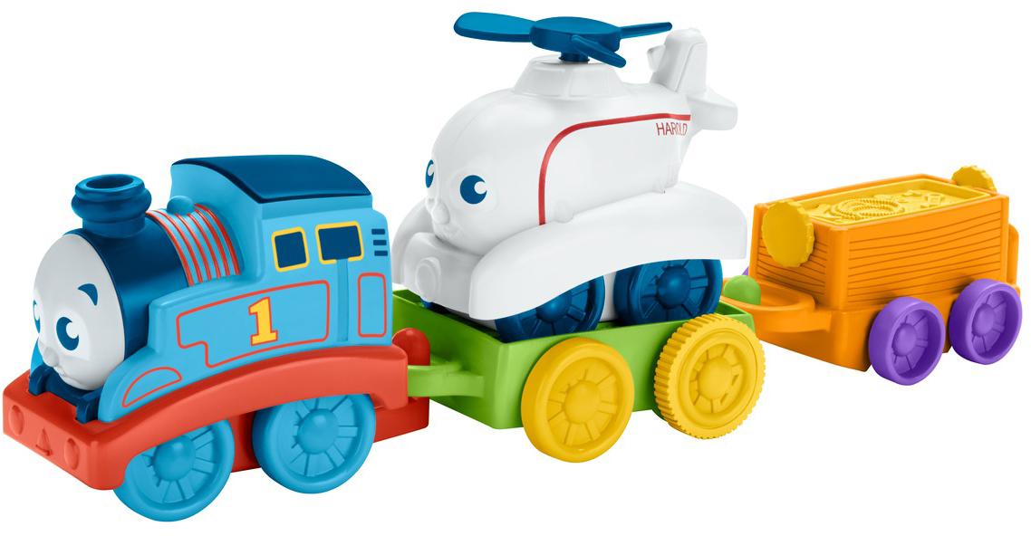 Thomas & Friends Игровой набор Мой первый Томас Томас и Гарольд