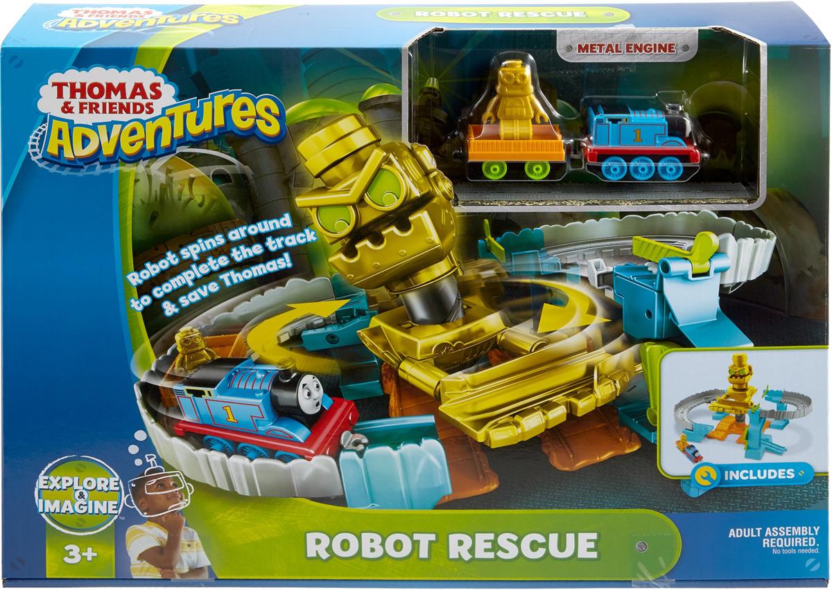 Thomas & Friends Игровой набор Томас и его друзья Робот спасает Томаса