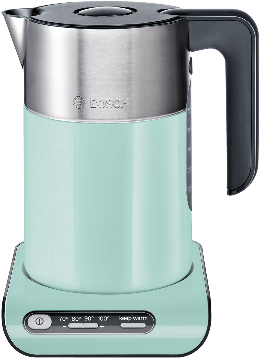 Bosch Styline TWK8612P, Turquoise электрический чайник