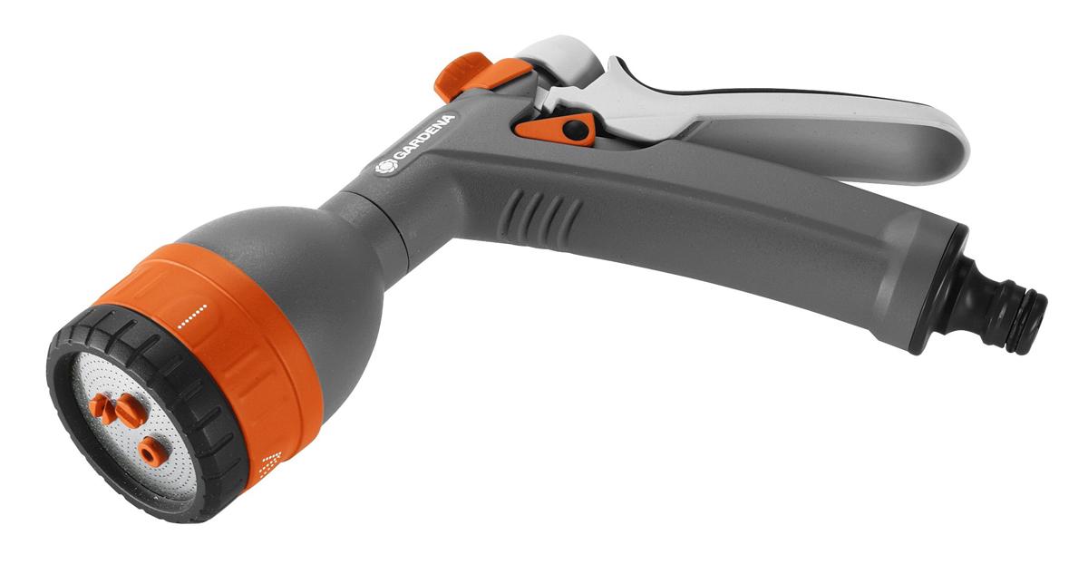 Фото - Пистолет для полива Gardena Classic, многофункциональный. 18343-20.000.00 пистолет распылитель для полива gardena comfort frost proof многофункциональный