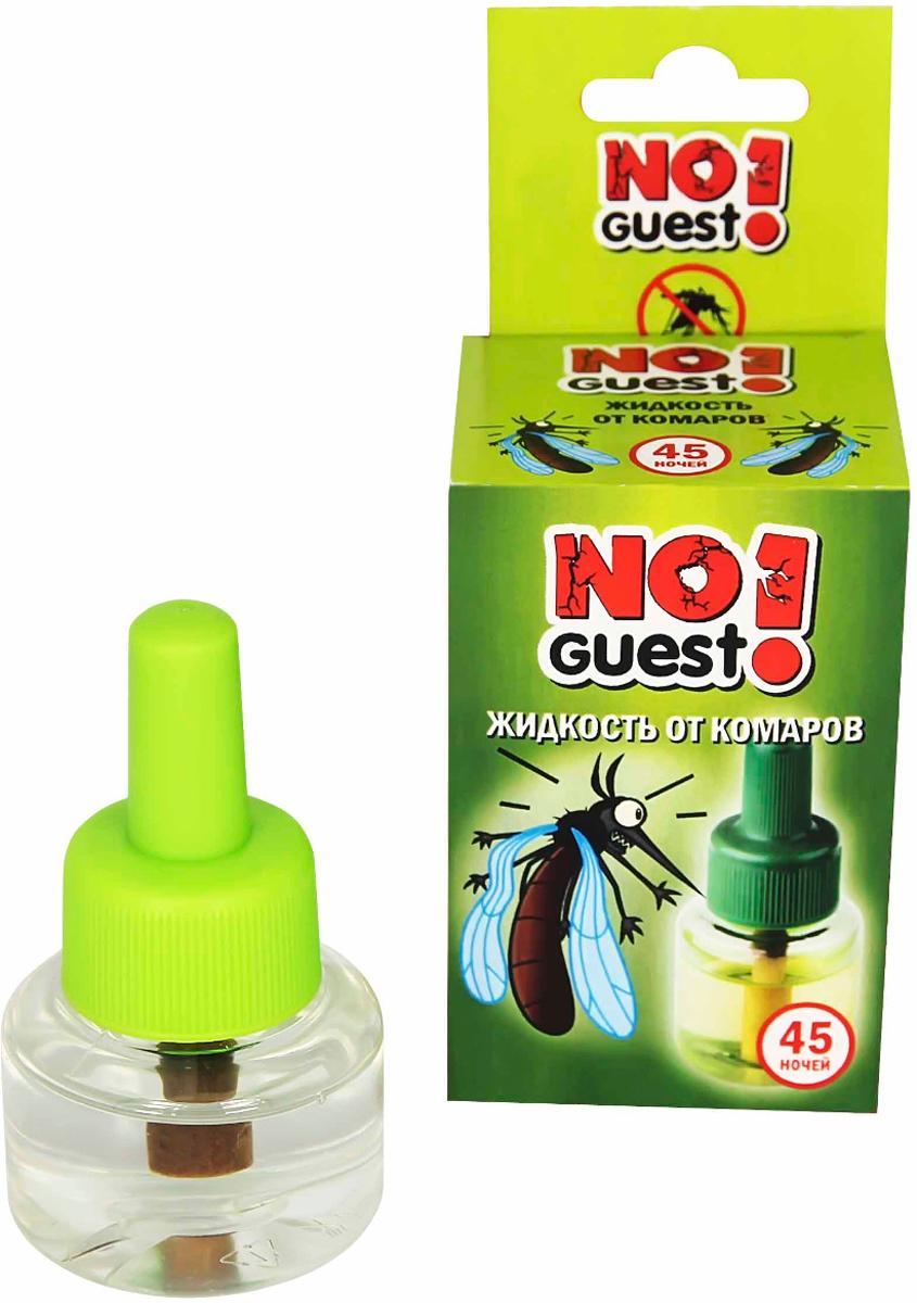 Жидкость от комаров NoGuest!, 45 ночей, 30 мл спрей от комаров noguest 100 мл