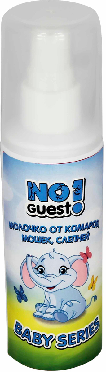 Молочко детское от комаров NoGuest!, 100 мл спрей от комаров noguest 100 мл