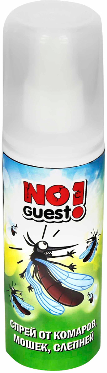 Спрей от комаров NoGuest!, 100 мл от комаров мошек
